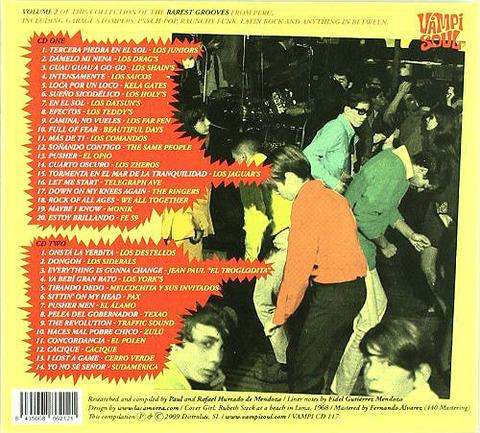 We All Together Back to Peru Vol II CD back