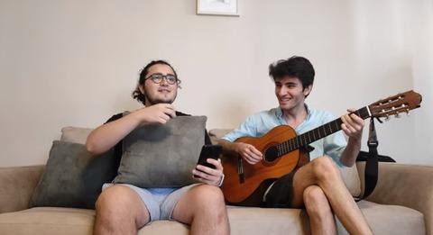 Orhun Gedik with Ali Eren Doganer