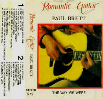 Paul Brett - Romantic Guitar cass