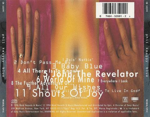 Phil Keaggy - Blue (1994) back