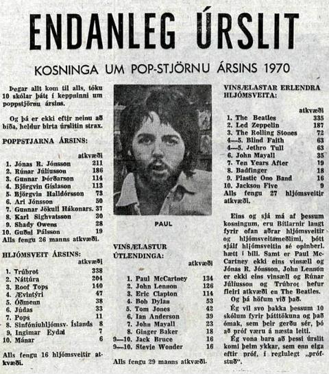 Tíminn (May 26, 1970)