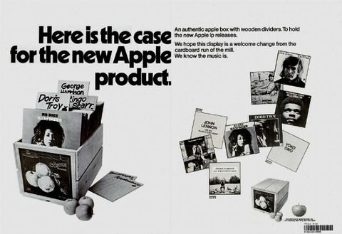Billboard 19701121 Apple ad