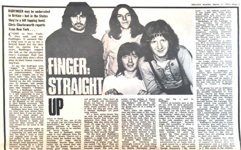 Melody Maker March 11, 1972