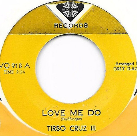 Tirso Cruz III Love Me Do