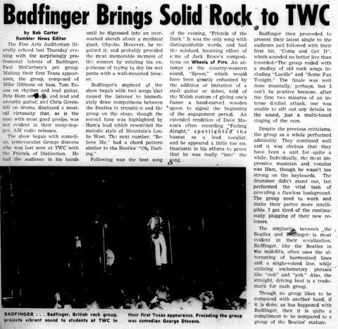 The Rambler October 28, 1970