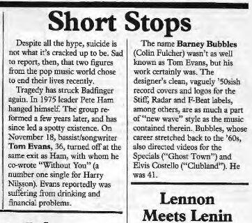 Trouser Press #95 March 1984