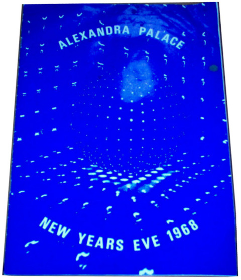New Years Eve Pop and Blues Party 1968 Concert Program