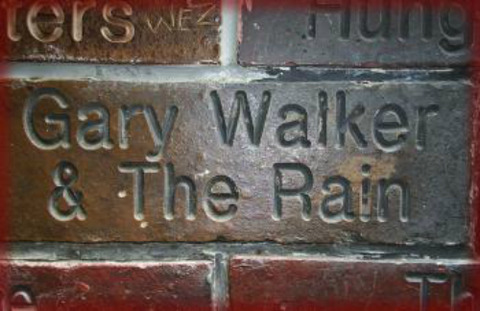 Cavern Wall of Fame Gary Walker and the Rain