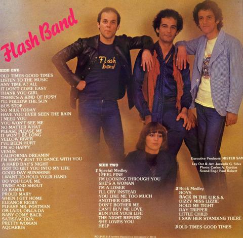 Flash Band (1981) back