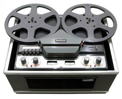 Revox G36 reel-to-reel tape deck