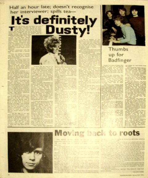 Record Mirror (January 24, 1970) Badfinger