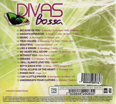 Sweet Voices Divas Bossa back
