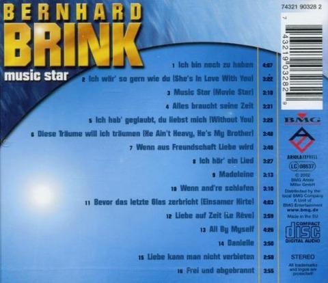 Bernhard Brink - Music Star b