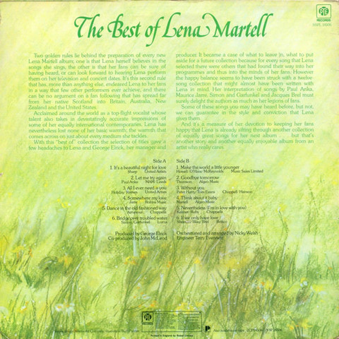 Lena Martell - NSPL 18506 back