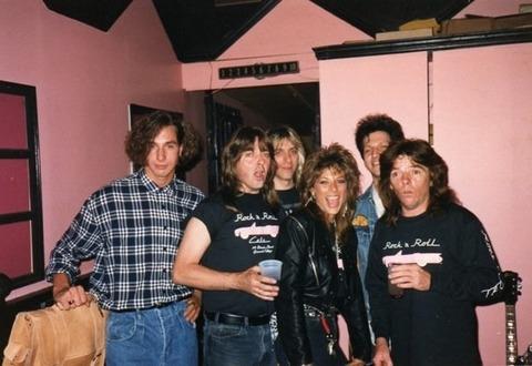 Badfinger Rock n' Roll Cafe '89 Vicki Abelson Badfinger