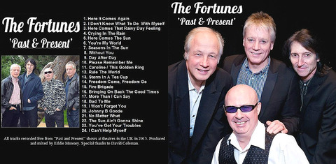 The Fortunes - Past & Present 2015
