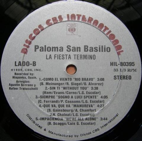 Paloma San Basilio - HIL-80395 r