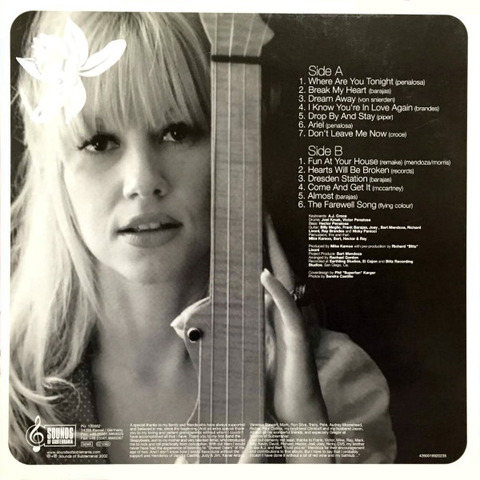 Rachael Gordon LP back
