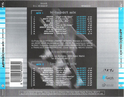 Don Cu - NRG003CD back