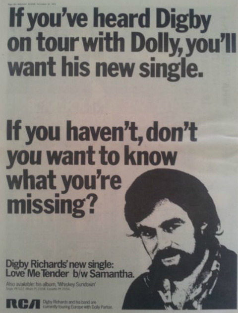 Digby Richards ad 1978