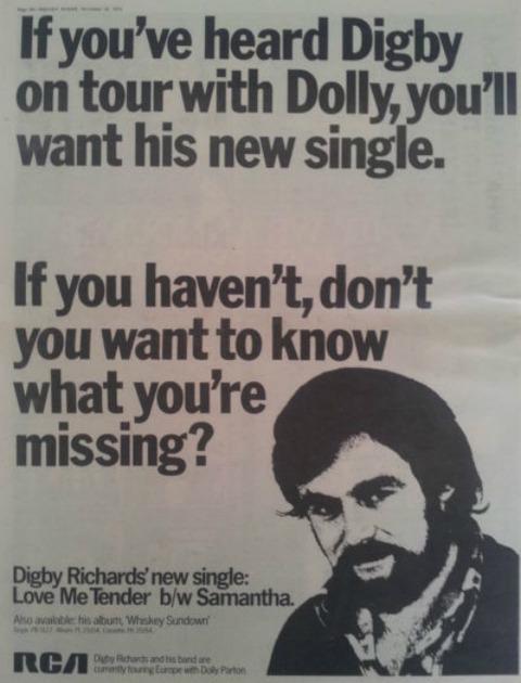 Digby Richards ad 1978