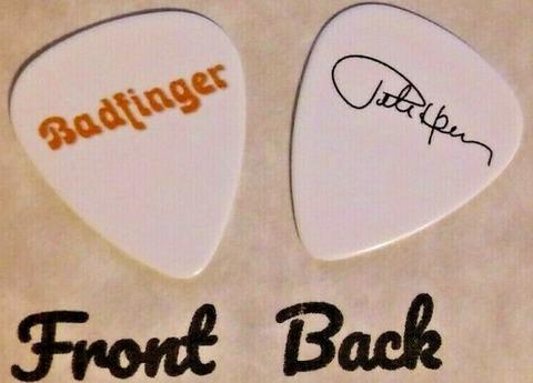 BADFINGER band logo PETE HAM signature guitar pick r