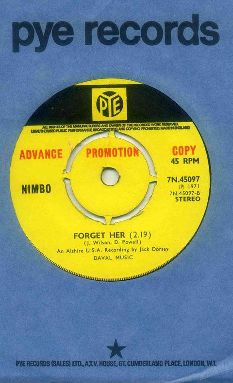 Nimbo - Forget Her (1971)