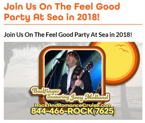 Join Us On The Feel Good Party At Sea in 2018 j