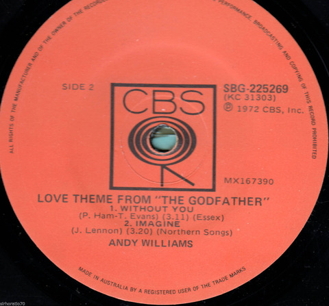 Andy Williams - SBG-225269 EP r2