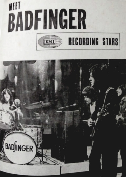 Kinks & Badfinger 1971 Australian tour concert program 07