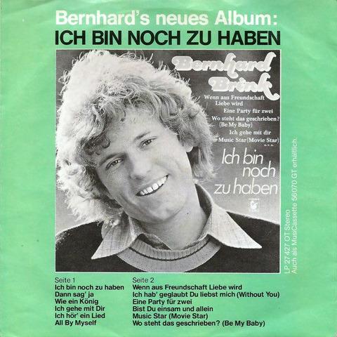Bernhard Brink - single b