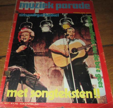Muziek Parade #167 Feb 1971 cover
