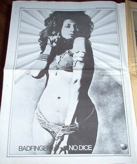 Rolling Stone #74 (January 21, 1971) No Dice ad