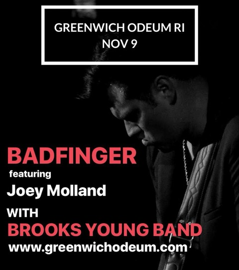 Joey Molland with Brooks Young Band Nov 9, 2017