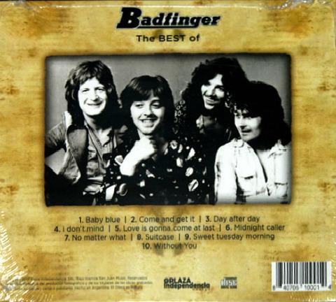 bjm CD 2013 Plaza Independencia Best of Badfinger back
