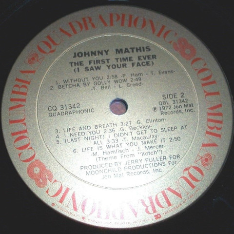 Johnny Mathis - CQ 31342 r