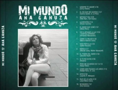 Ana Ganuza - Mi Mundo back