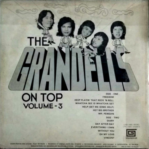 The Grandells - On Top Volume - 3 b