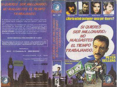 Si quieres ser millonario VHS Spain 2