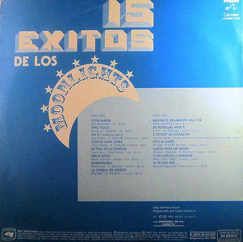 Los Moonlights  - CAMS-1179 back