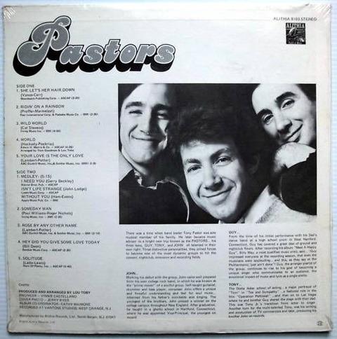 Pastors - Pastors (1973) back