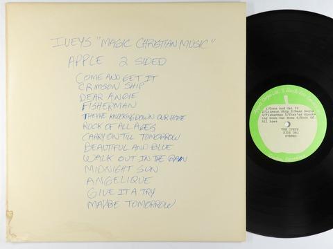 Iveys - Magic Christian Music Acetate LP - Apple UK a