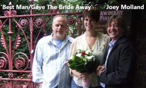 Paul Davie + Linda + Joey Molland