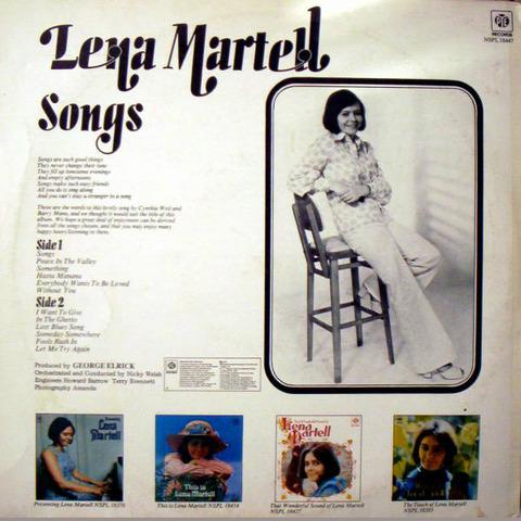 Lena Martell - NSPL 18447 back