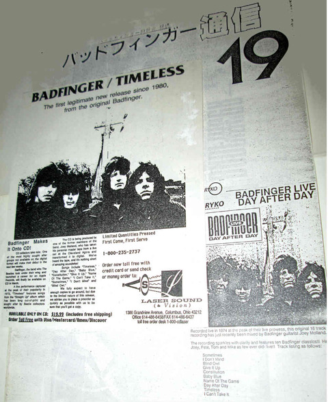 Badfinger Post #19 (Sep 1990)