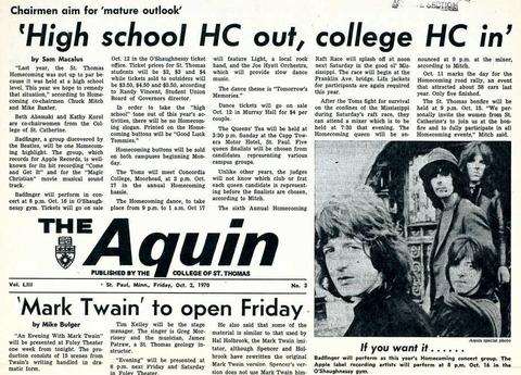 The Aquin Oct 2, 1970