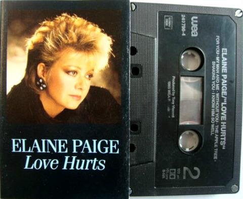 Elaine Paige - Love Hurts WX28C a