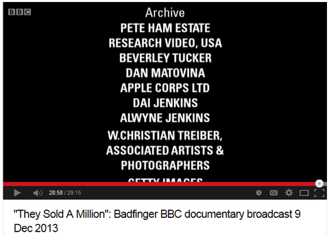 They Sold A Million - Badfinger BBC documentary