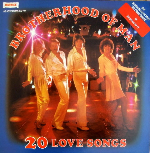 Brotherhood of Man - 20 Love Songs