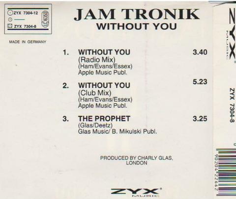 Jam Tronik - ZYX 7304-8 back